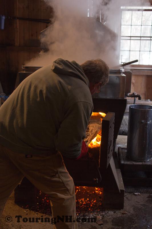 Keeping the sap boilng