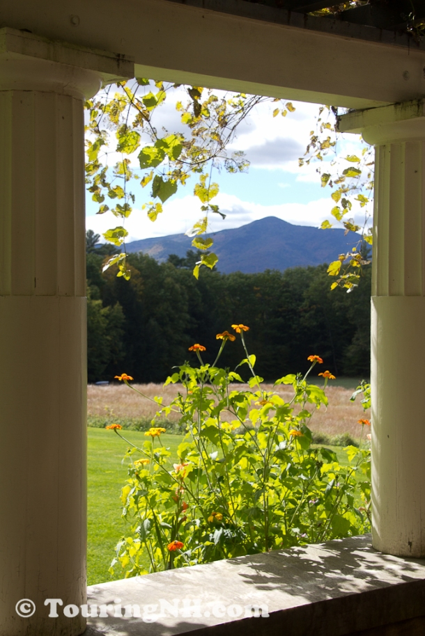 View of Mt Ascutney  from the porch