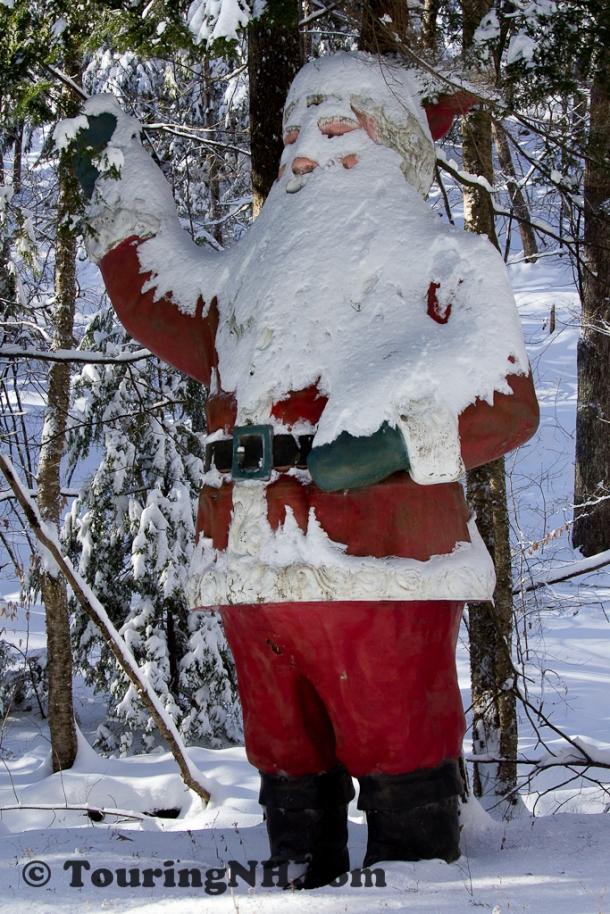 Santa's snow beard