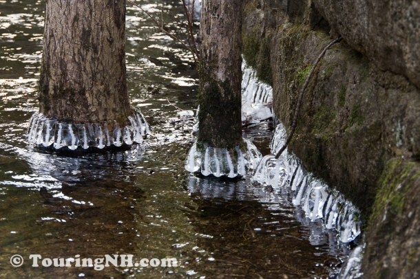 Harrisville - I thought the ice formations were really neat.
