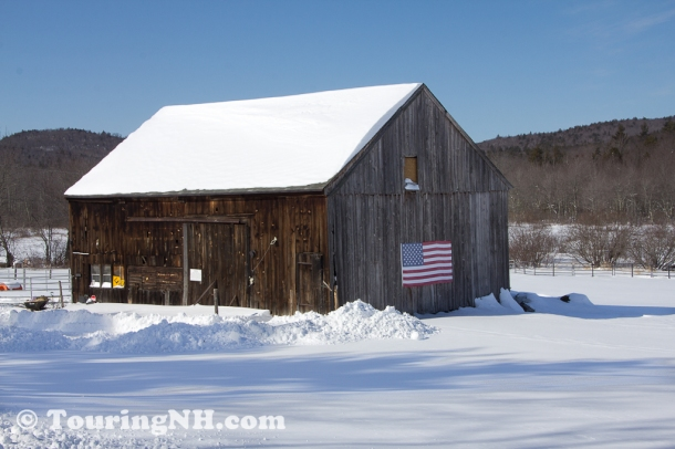 Windor - An iconic New Hampshire barn.