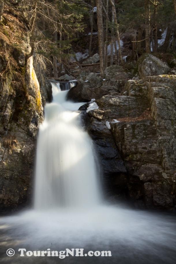 Keene - Beaver Brook Falls. A wonderful hike with Steve.