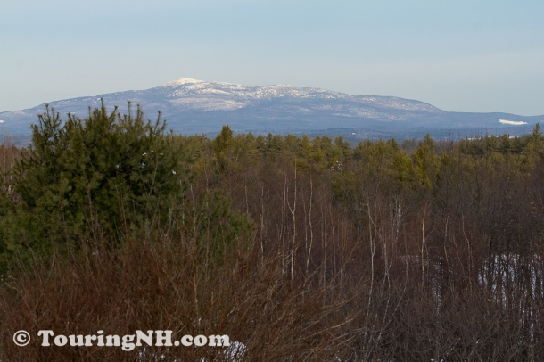 Rindge - View of Mt Monadnock taken from Cathedral of the Pines