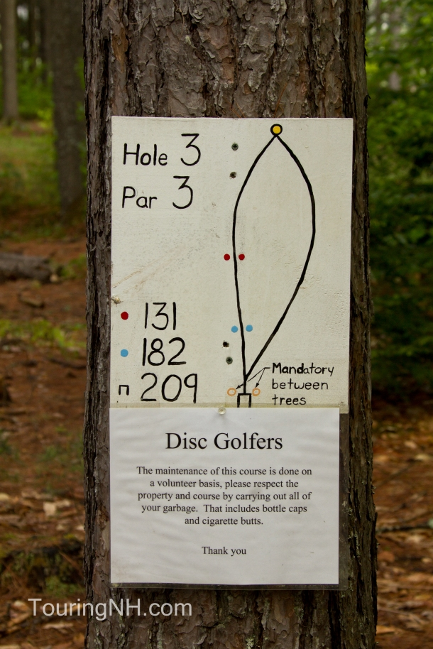I had never heard of Disc Golfing...