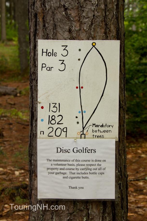 I had never heard of Disc Golfing...