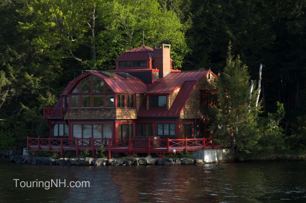 Steven Tyler's summer house on the lake There is an interesting video on Oprah.com about it