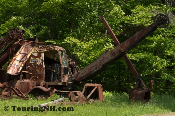 Could this be the steam shovel John Henry beat?