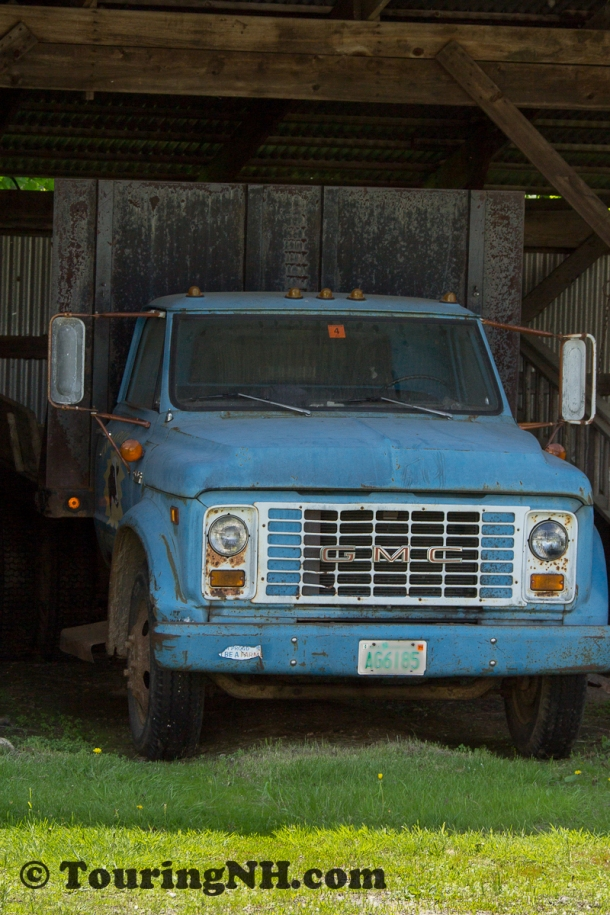 The Beryl Mountain Museum isn't the only place I saw antique trucks