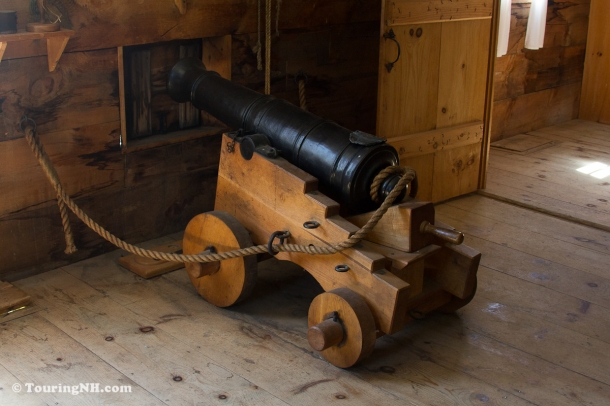 Haven't you always wanted a cannon in your bedroom?